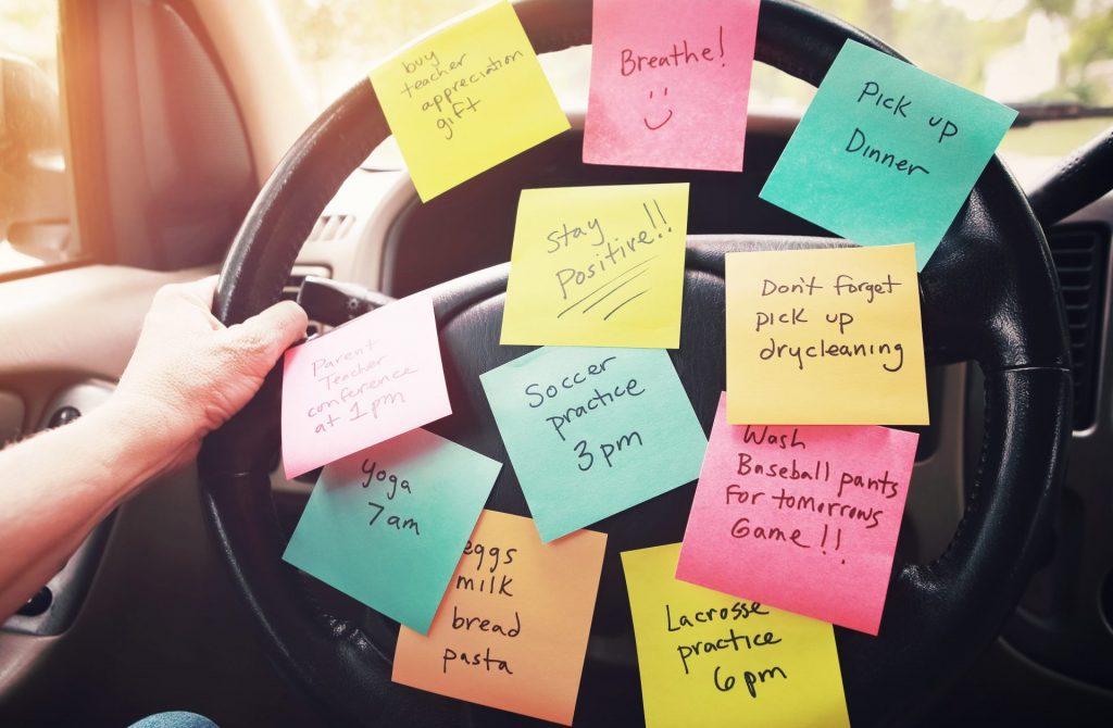 Rushing - steering wheel
